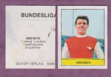 Arsenal Colin Addison B68